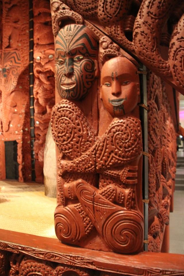 Maori figures