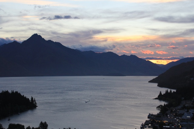 wakatipu sunset
